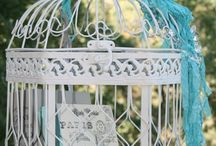 Mel - Pinks and Blue - colourful wedding / Mel also like the vintage inspired theme / shabby chic.