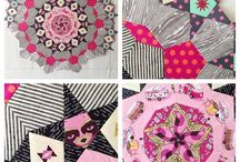 Hexagons / Patchwork quilts