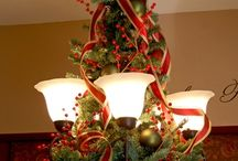 Christmas lamp decoration