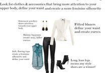 Dress rectangular body shape