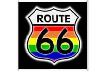 RoUtE 66 LeTs HiT tHe RoAd:::::::::: / Driving the historical Route 66 in the Good Old USA!::::::::::::::::::::::: / by Vee Ivie