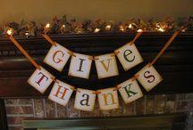 Thanksgiving / by Elizabeth Jones