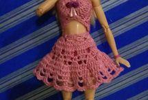 Barbie Örgüden Kıyafetler