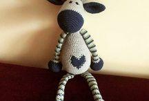 moje amigurumi / my amigurumi, love crochet