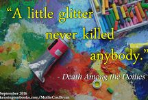 "Fun Memes for ""Death Among the Doilies"" / A collection of creative memes for my book!"
