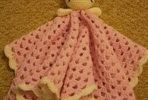 Couvertures au crochet pour bébés