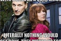 Doctor Who / Everything wibbly-wobbly and timey-wimey. Allons-y!