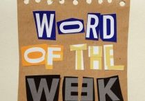 Word of the week / Once a week a one word illustration to make you smile