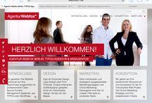 I love my office #Interiordesign / Coole Ideen fürs Büro, roter Teppich, #Agenturleben, #Raumdesign