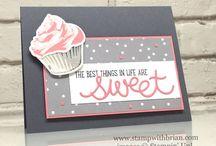 cards sweet Cupcake su!
