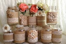 Mason Jars / Decorating of jars