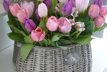 bloemen assortiment / over bloemboeketten