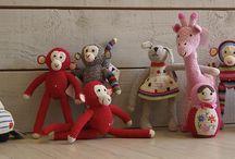 """figurines Anne-claire petit accessoires / Les figurines """" anne-claire petit accessoires """" s'installent pour les vacances chez BB ROOM'S"""