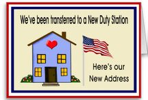 Just Moved Military Relocation / Just moved - military relocation, military change of station, homecoming, / by Former Military Spouse ~ Military Divorce