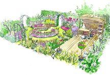 Croquis jardins