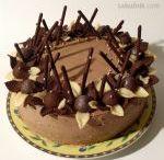 walnut cake/orechovy dort