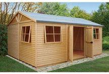Multifunctional Garden Sheds and Workshops / Our range of high quality multifunctional garden sheds and workshops.