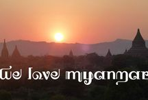 We Love Myanmar / We love Burma. A collection of the best photography of Burma from around the web. / by Yettio Travel Magazine