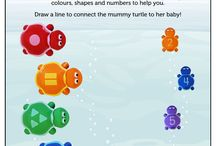 Activity Sheets / Activity sheets to keep your little ones learning!