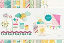 P&Co Wishlist / All of the pretty things I want to add to my digital scrapbook stash from Pixels & Company