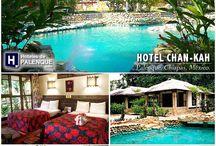 Hoteles de Palenque, Chiapas / Directorio de Hoteles de Palenque, Chiapas, México.