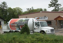 Budget Propane Trucks / Budget Propane delivers clean, safe, propane fuel throughout central Ontario. www.budgetpropaneontario.com