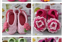 crotchet booties