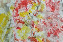 Acrill paint / Festményeim