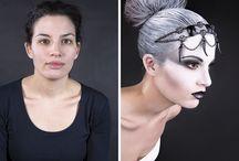 """Nederlandse make-up awards 2014 / genomineerd voor de Nederlandse make-up-awards 2014. theme """"art of the century"""""""