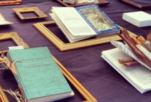 Altered Books / What makes a book a book? Are books just for reading? Altered Books invited people to exhibit a book altered in some way– painted, re-purposed, re-shaped– to explore the book as an object and artistic medium. What can you do with books?