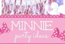 Minnie dorada y rosa