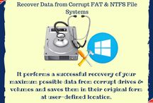 Windows Data Recovery Software / Repair the corrupt FAT and NTFS file and physical drive and also recover the - image, document, backup, database, email, archive, multimedia, etc. from it and save it to new file in user-defined location.