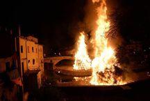 festa del fuoco rocca san casciano
