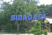 Pulau Bidadari | Bidadari Island | Pulau Bidadari Pulau Seribu / 30 Minutes with speedboat from Marina Ancol has lot historical place and interesting view that you can see. http://pulauseribu-tour.com/bidadari-island