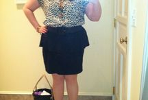 Animal print Polka Peplum / Style mix fun