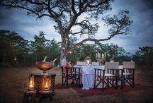 Romantic spots in Africa