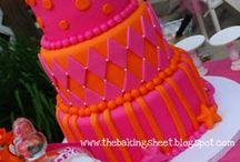 Orange & Pink 40th