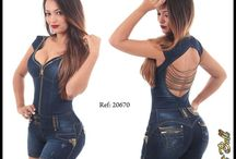 macacao jeans pit bul