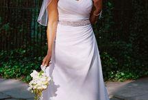wedding dresses and rings / so pretty! / by Ashley Etzkorn