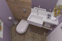 Lavabos e Banheiros / Ambientes desenhados por www.seusonhodesenhado.com