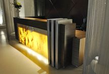 Arquitectura Barra Recepción - Reception Desk Design