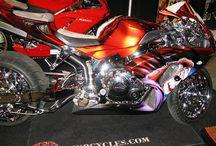 Motorcycles unusual
