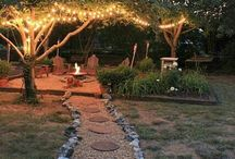 Patio under the Trees