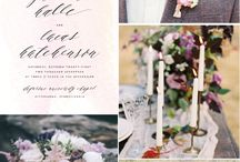 Natural color wedding