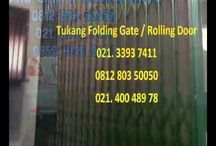 085101937411 - KLINIK SERVIS ROLLING DOOR FOLDING GATE