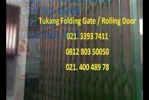 085101937411 - KLINIK SERVIS ROLLING DOOR FOLDING GATE