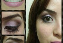 Makeup by Me! / Um pouco do meu trabalho preferido: Maquiar.