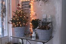 Scandinavian christmas / Modern scandinavian xmas decoration