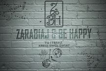 """""""GRAPHICS"""" own blog / Tablica przedstawiająca Idee Zarabiaj&Be Happy"""