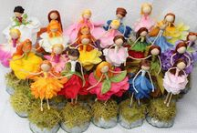 Handmade fairies